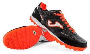 6e41fb09 Czarno-pomarańczowe buty piłkarskie na orlik Joma Top Flex 901 Turf