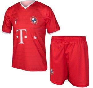 666a636a847454 Komplet piłkarski Reda Bayern Lewandowski junior biało-czerwony