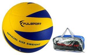 5b58338fa Zestaw Piłka do siatkówki Fulsport Ultra Soft Touch rozmiar 5 + siatka Madej