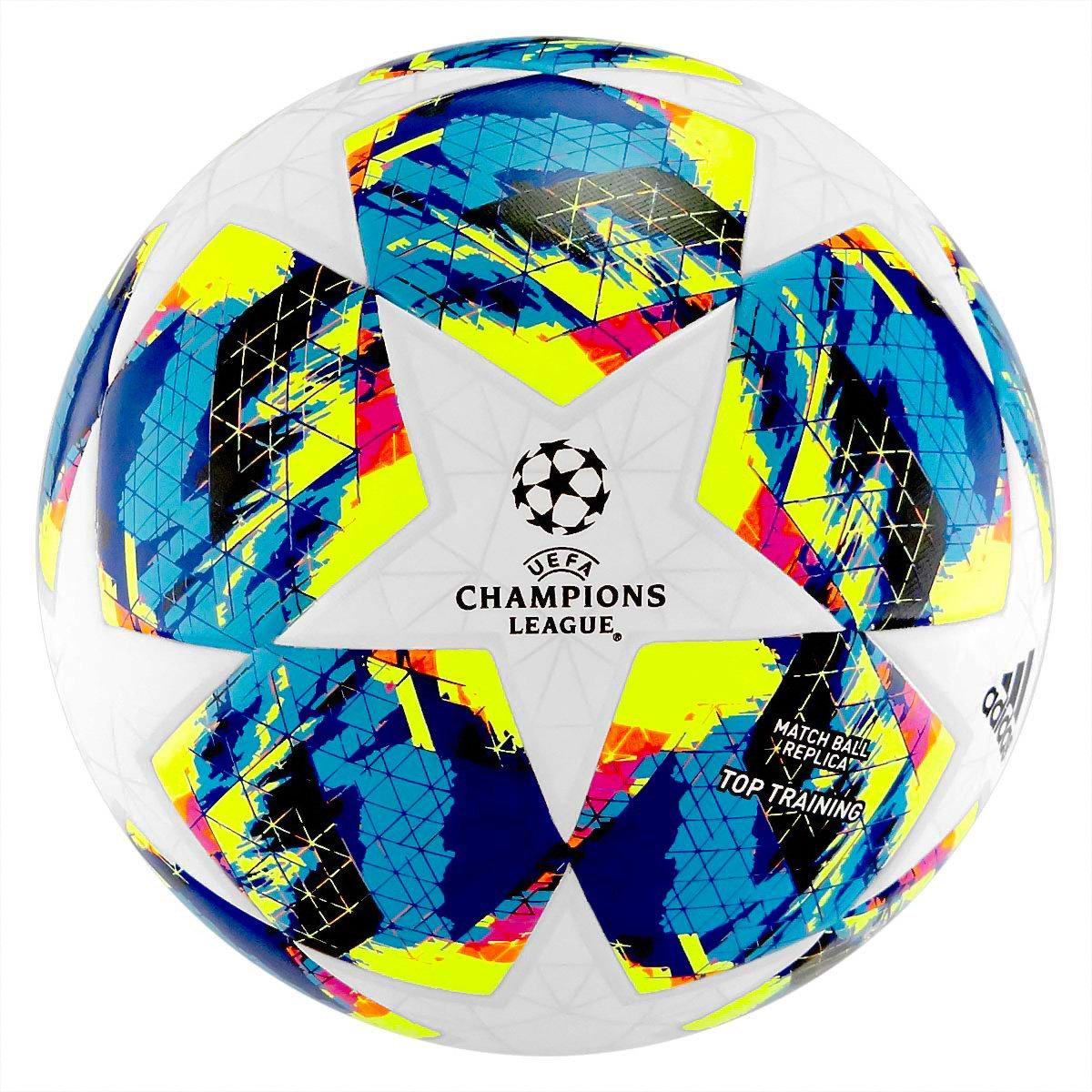 Biała piłka nożna Adidas Finale Top Training DY2551 r5