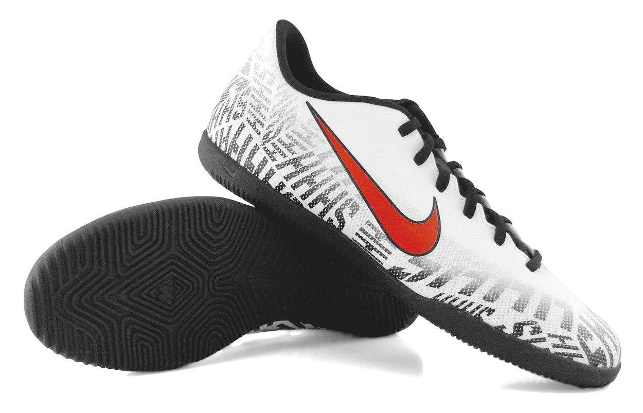 nieźle piękno kup sprzedaż Biało-czarne buty piłkarskie na halę Nike Mercurial Vapor Club Neymar IC  AV4763-170