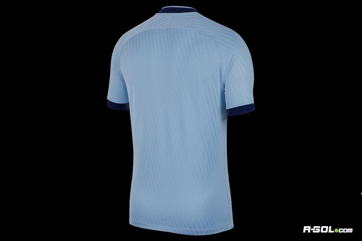 Błękitna koszulka Nike ATM BR STAD AT0026 436