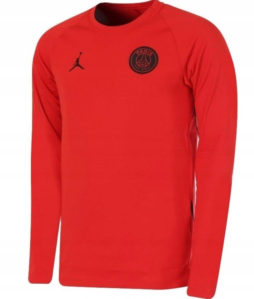 Bluza Nike Paris Saint Germain Authentic AO5453 081 czarno czerwona