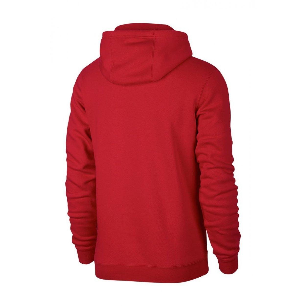 Bluza Nike Polska Hoodie Core 891719 608 czerwono biała