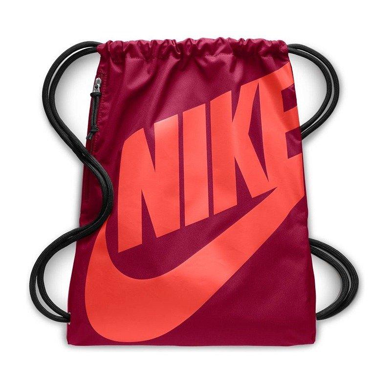 ventana Inmundo Sucio  Bordowy worek Nike Heritage Gymsack BA5351-678 | Fulsport.pl