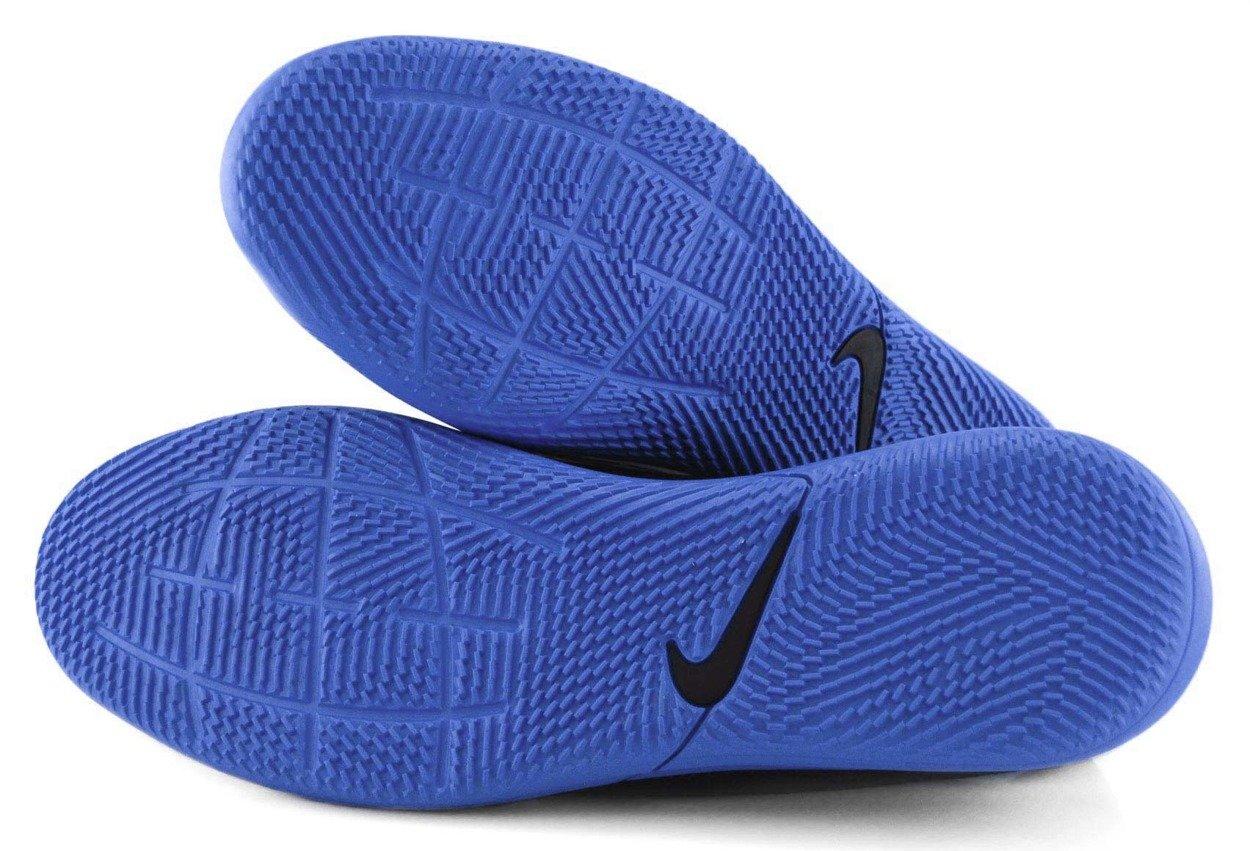 Czarno niebieskie buty Nike Tiempo Legend Club IC AT6110 004