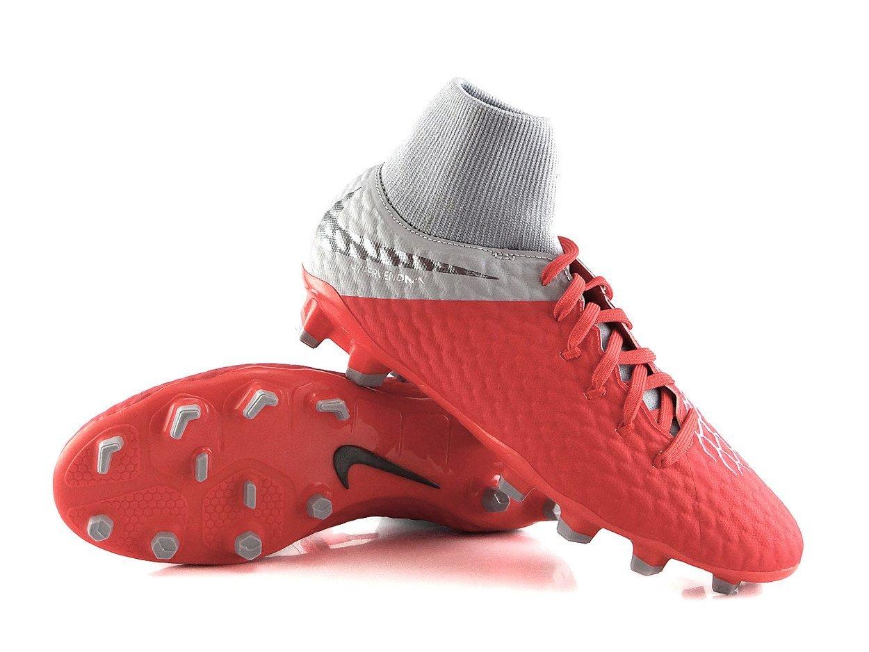 ponadczasowy design najlepsze oferty na ekskluzywne buty Czerwone buty piłkarskie Nike Hypervenom Academy DF FG AH7287-600 JR