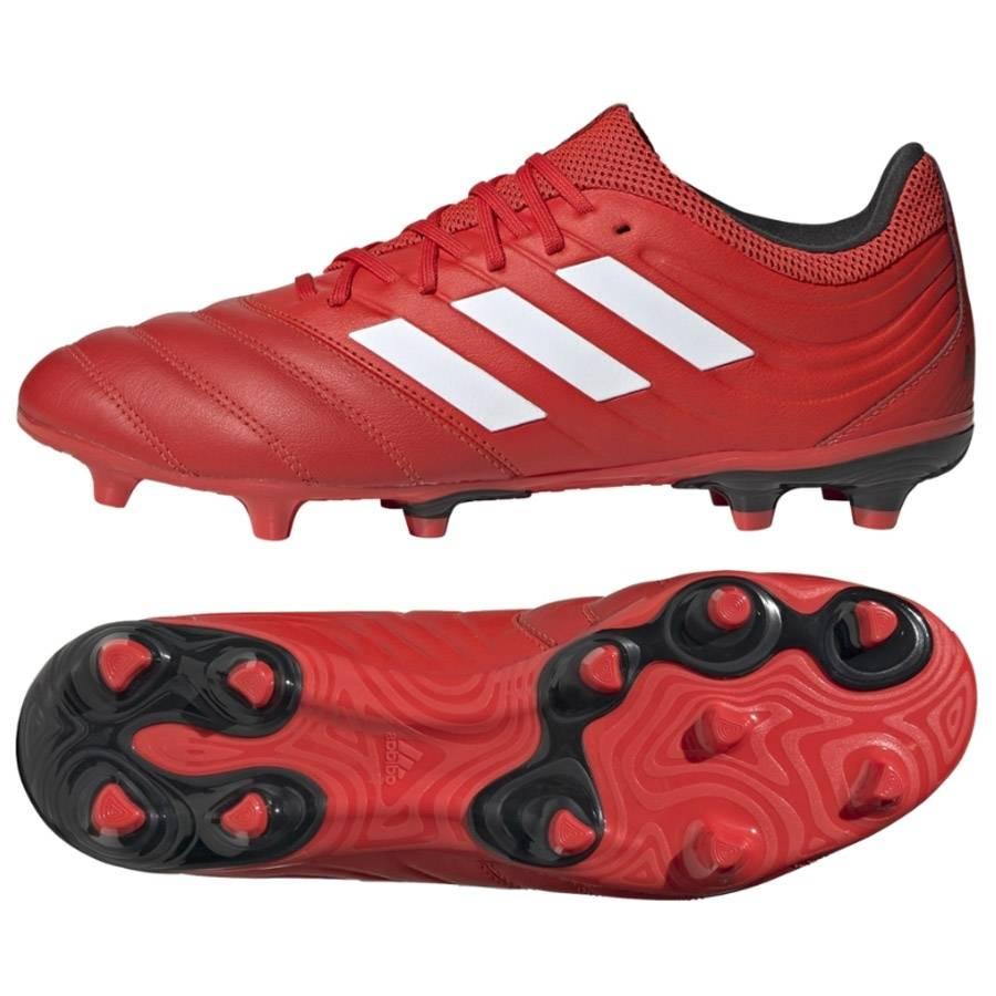 Czerwone buty piłkarskie korki Adidas Copa 20.3 FG G28551