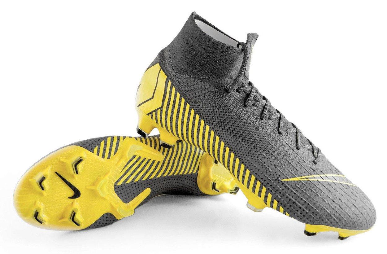 dobrze out x ceny detaliczne buty jesienne Szare buty piłkarskie Korki Nike Superfly Elite FG AH7365-070 profes.