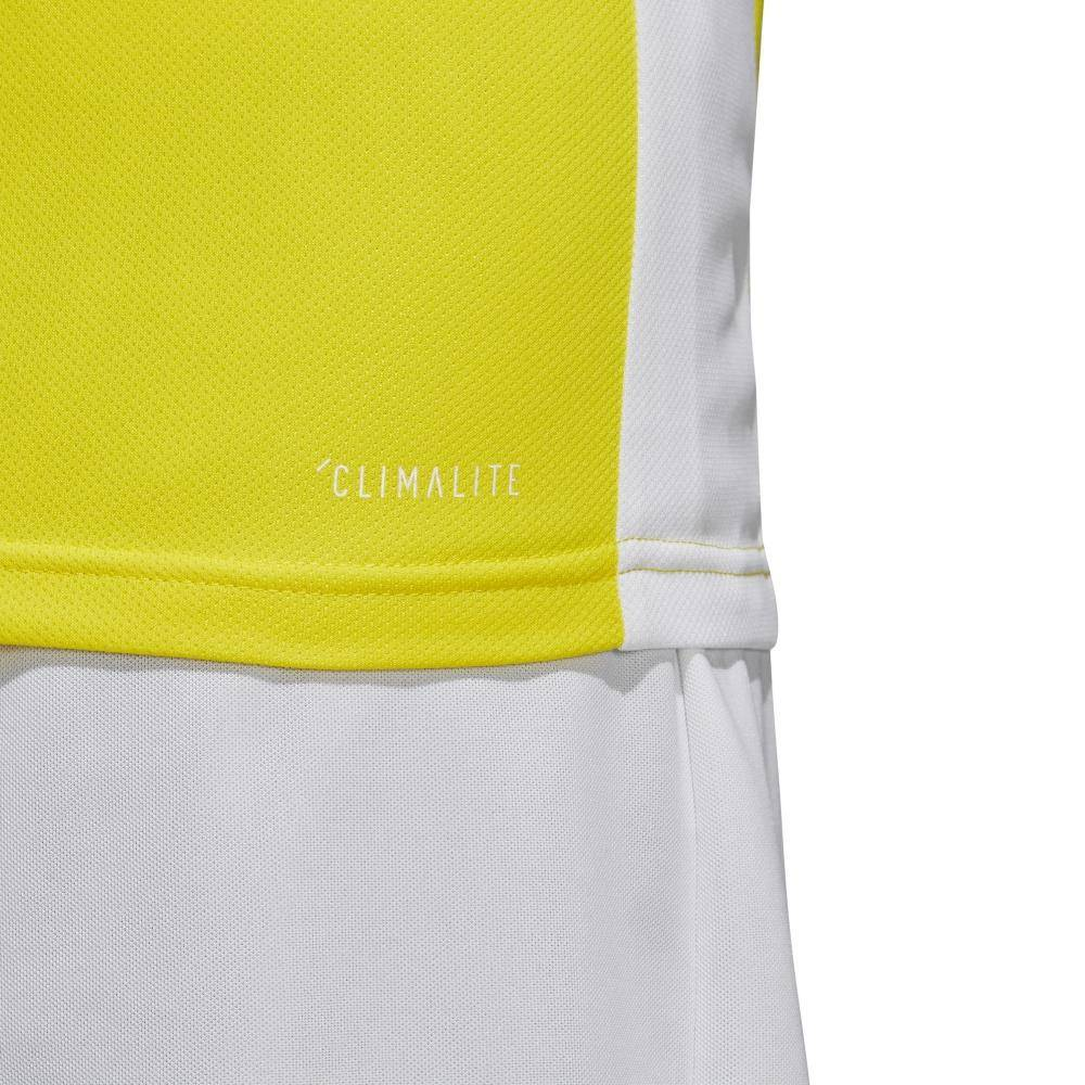 Koszulka dla dzieci adidas Entrada 18 Jersey JUNIOR żółta CD8390