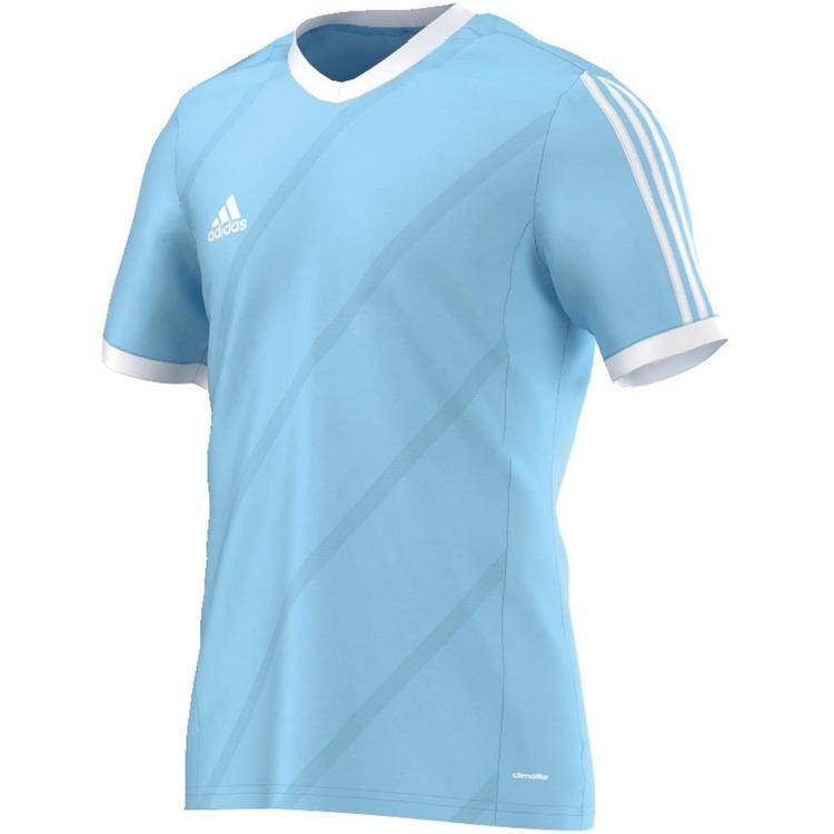 b4fbc07b0b6b1 Niebieska koszulka Adidas Tabela 14 JR F50281 Kliknij