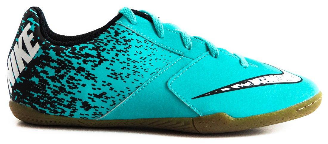 Niebieskie buty piłkarskie na halę Nike BombaX IC 826485 410