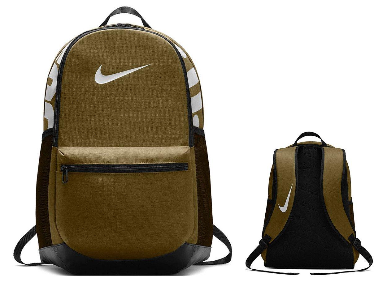 95eb71be80d81 Zielony plecak szkolny Nike Brasilia Training BA5329-399 Kliknij, aby  powiększyć ...