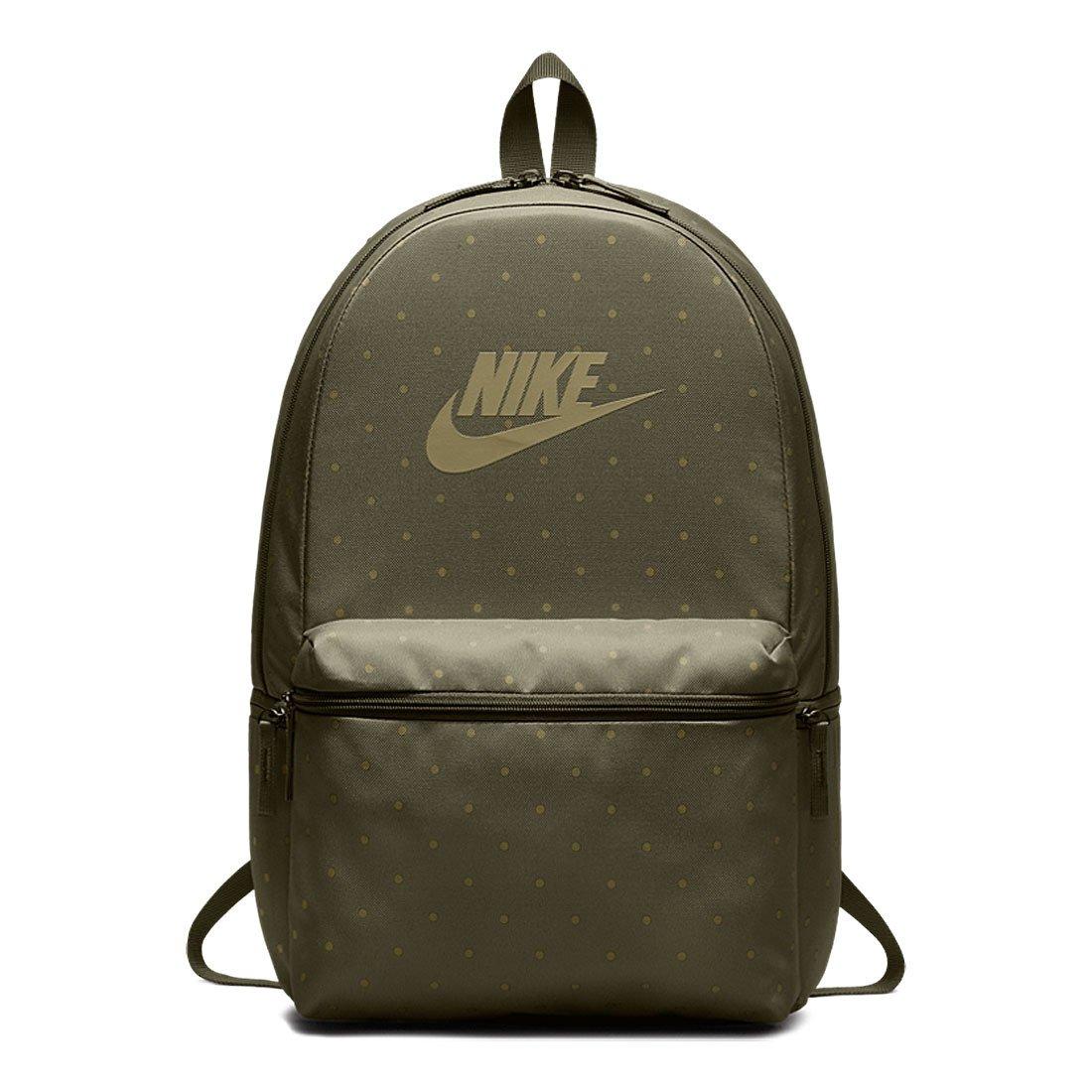 82acc5eec0b1f Zielony plecak szkolny Nike Hertiage Backpack BA5761-222 Kliknij, aby  powiększyć ...
