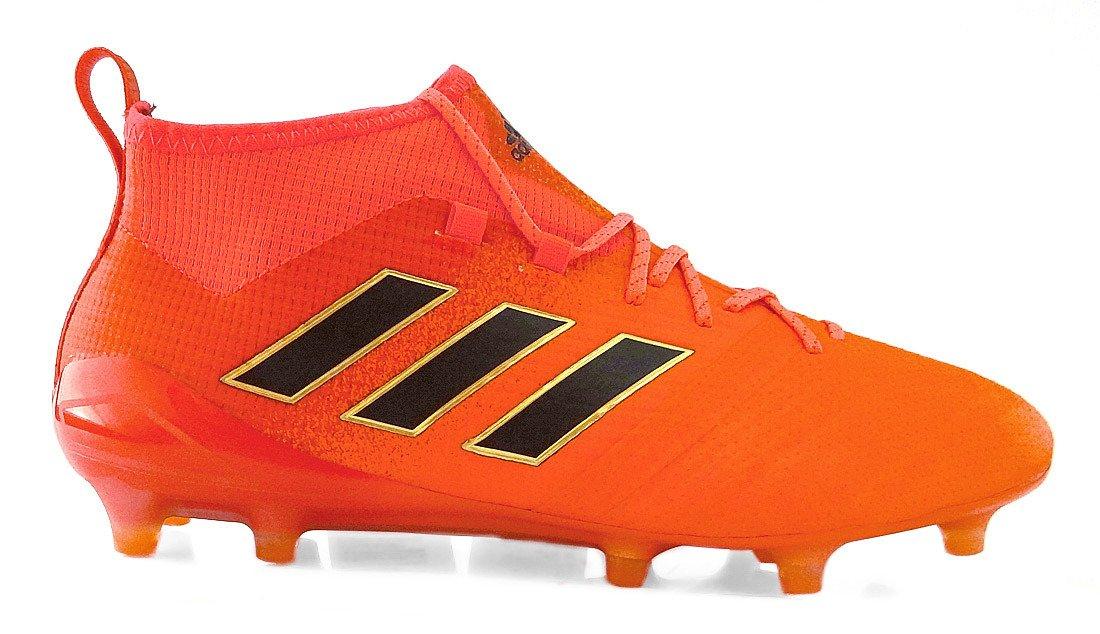 Pomarańczowe buty piłkarskie Adidas Ace 17.1 FG S77036