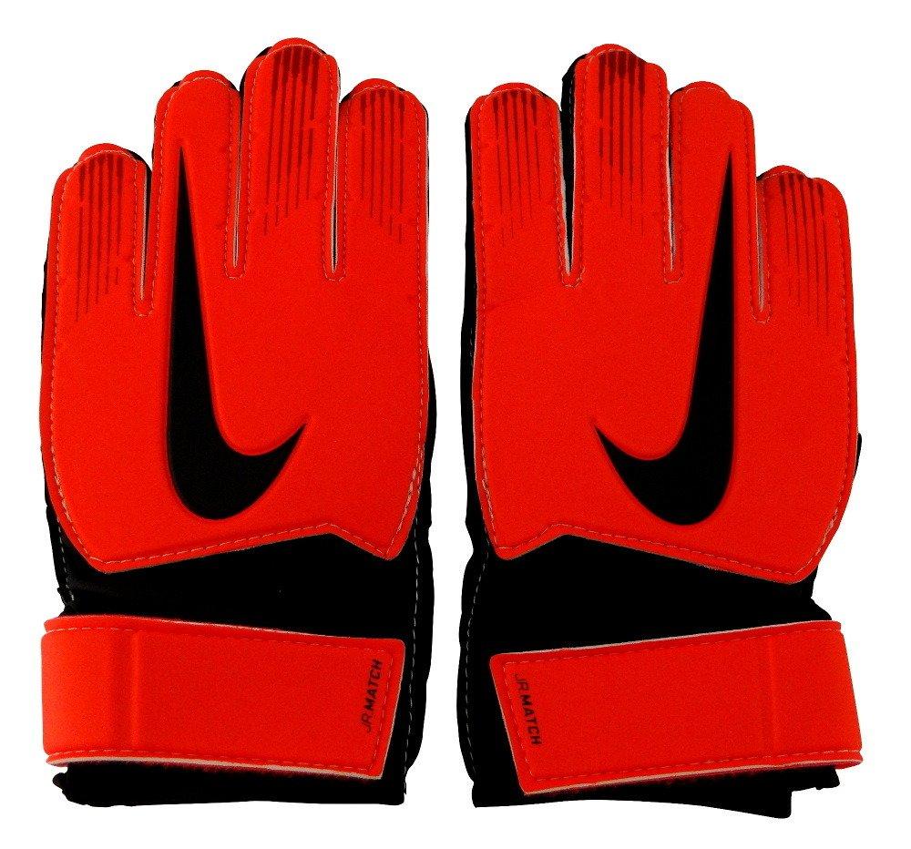 vendaje tonto Humedal  Rękawice bramkarskie Nike Match JR GS0368-657 czerwono-czarne   Fulsport.pl