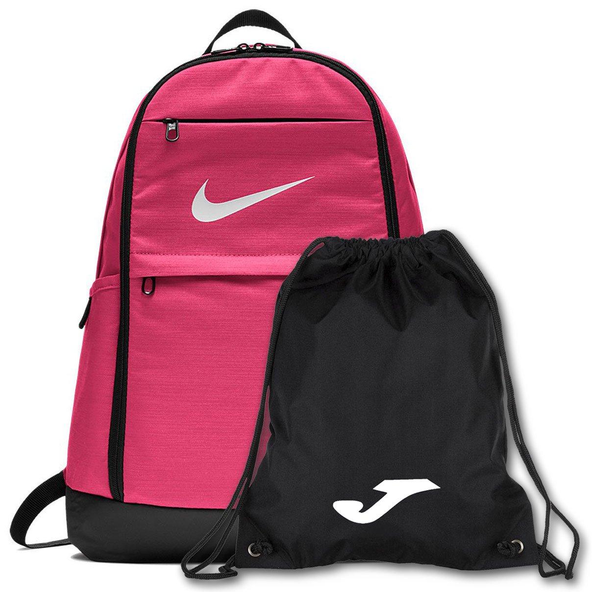 dostać nowe nowy wygląd Najlepiej Różowy plecak szkolny Nike Brasilia BA5892-699 + Worek na buty JOMA