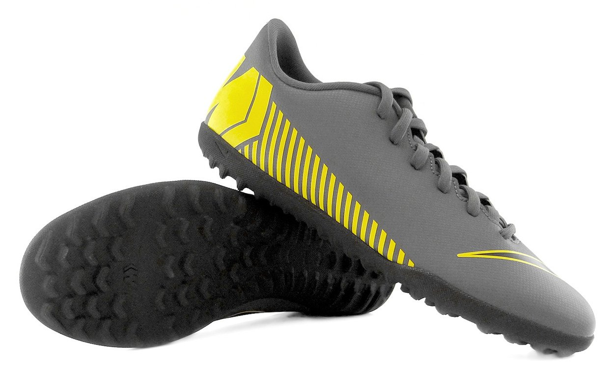 cáscara Viscoso Arrastrarse  Szare buty piłkarskie na orlik Nike Mercurial Vapor Club TF AH7355-070 JR    Fulsport.pl