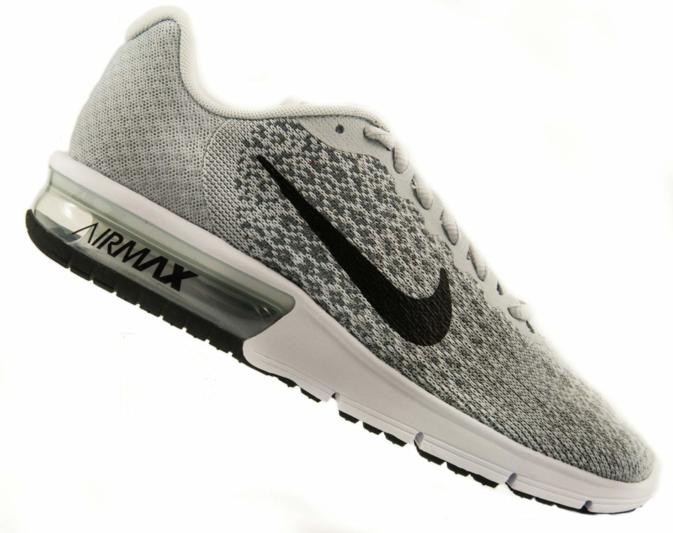 Szare buty sportowe Nike Air Max Sequent 852465 001