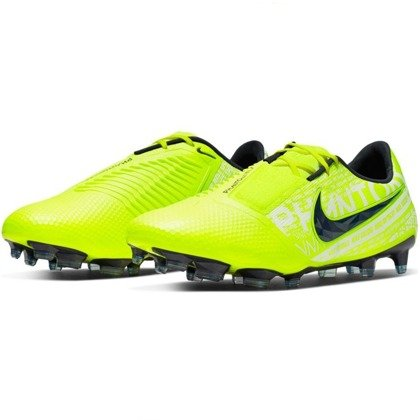Zielone buty piłkarskie korki Nike Phantom Venom Elite FG AO7540 717
